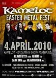 Kamelot, cartel de su tour europeo