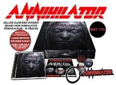 Annihilator, edición especial de su nuevo disco