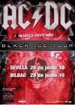 AC/DC, cartel de su gira por España