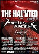 The Haunted Angelus Apatrida Gira
