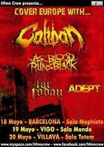 Caliban Tour Spain 2011