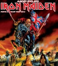 Iron Maiden Maiden England 2012