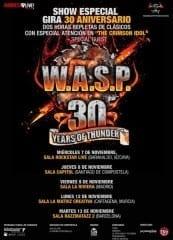 Wasp 30 Aniversario Cartel