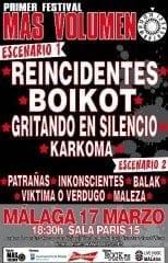 Mas Volumen Festival 2012