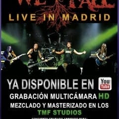 We All Fall Live In Madrid