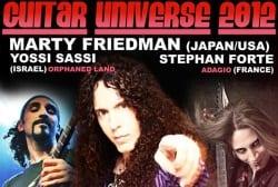 Marty Friedman Tour