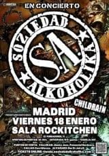 Soziedad Alkoholika Cartel Madrid 2012