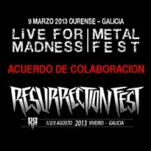 Live For Madness Resurrection Fest 2013