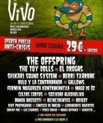 En Vivo 2013 Cartel