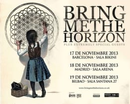 Bring Me The Horizon Tour 2013
