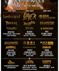 Resurrection Fest 2013 Cartel Dias