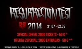 Resurrection Fest 2014 Fechas