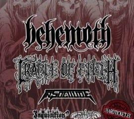 Behemoth Cradle Tour 2014