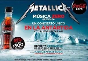 Metallica Antartida