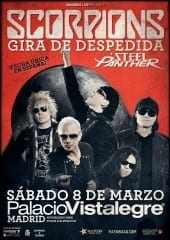 Scorpions Cartel Madrid 2014