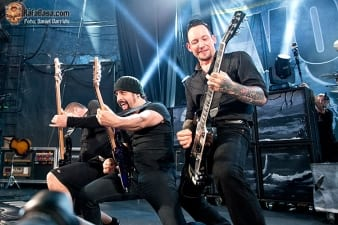 Volbeat Madrid 2013