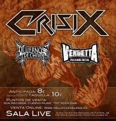 Crisix Cartel Madrid 2014