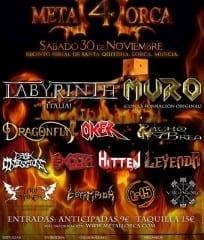Metal Lorca 2013 Cartel