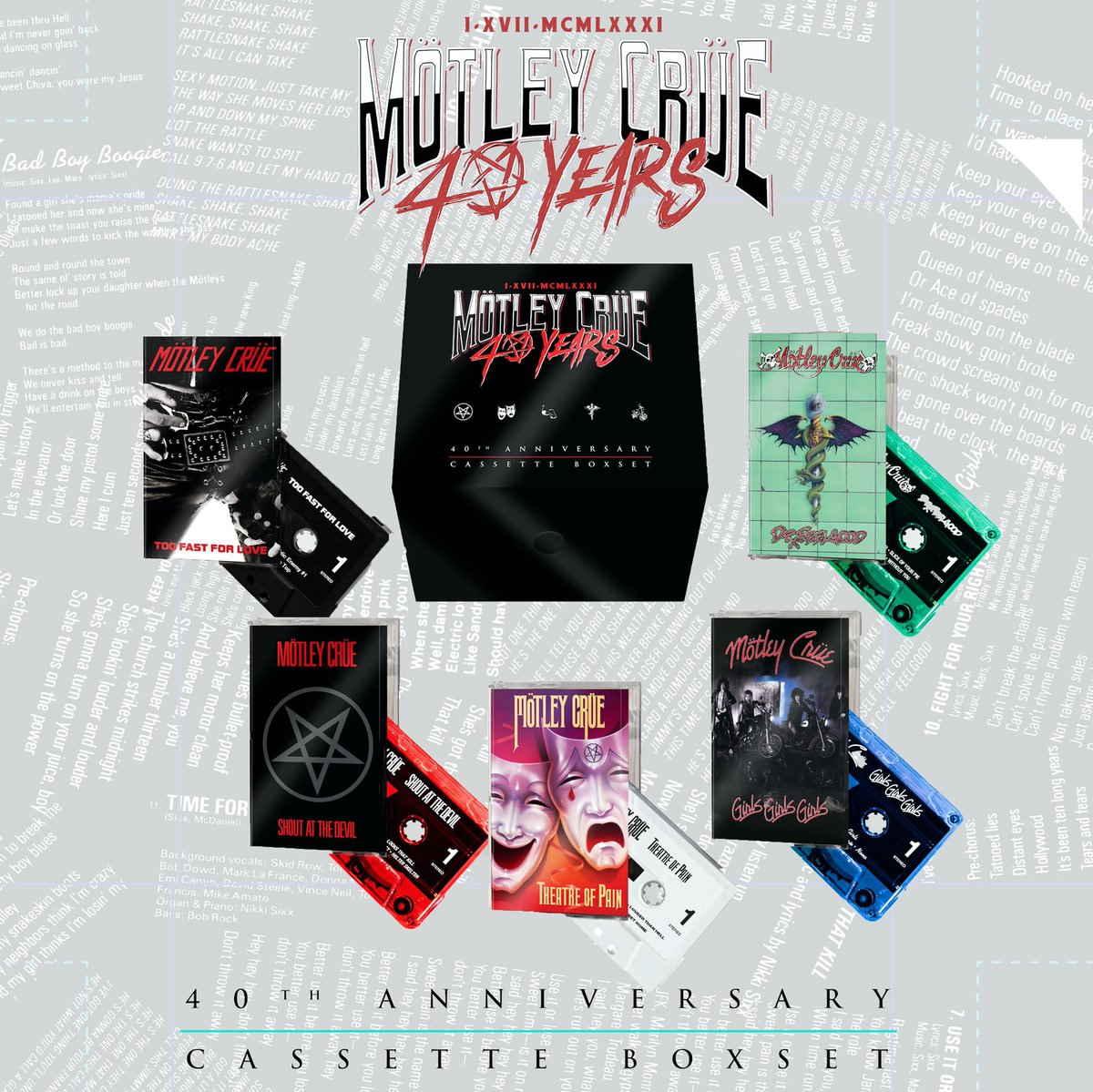 RECORD STORE DAY 2021 Motley_crue_cassettes